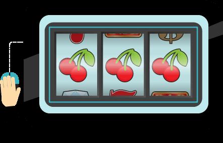 three slot cherry symbols