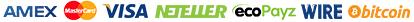 Amex-Master-Visa-Neteller-Ecopayz-Wire-Bitcoin