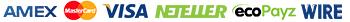 Amex-Master-Visa-Neteller-Ecopayz-Wire