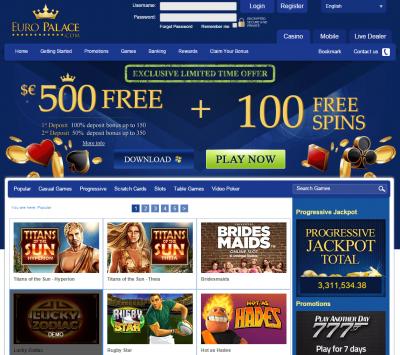 euro-palace-casino-screenshot-pound