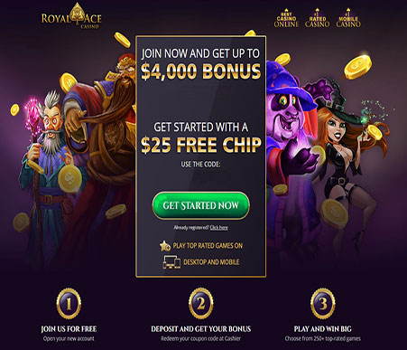 royal ace casino screenshot updated 2018