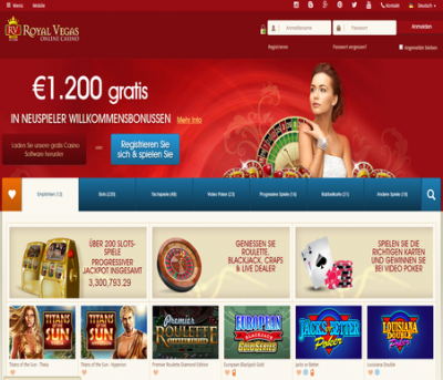 royal vegas casino germany