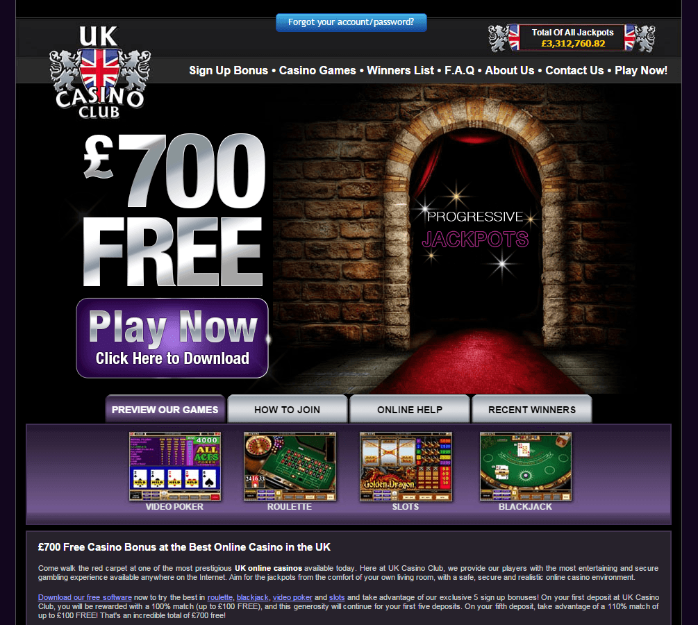Online Casino Club Uk