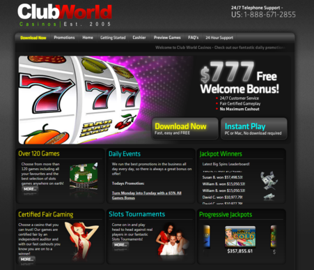 Clubworld Casino Review