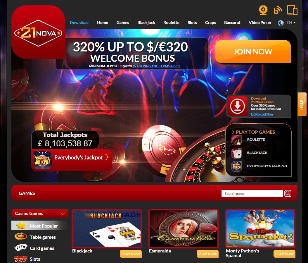 21-nova-casino-screenshot