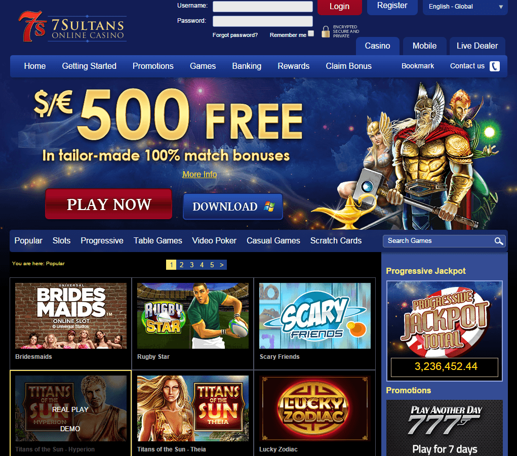 7-sultans-casino-screenshot