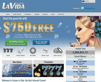la-vida-casino-screenshot