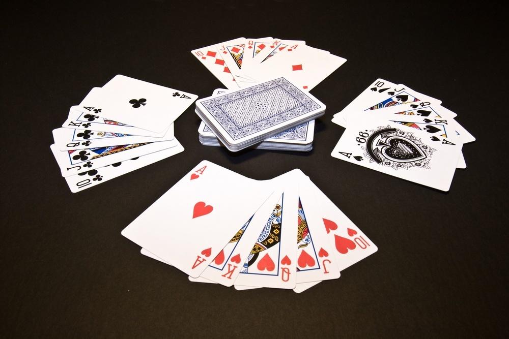 multiple poker decks