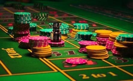 Roulette Gambling chips