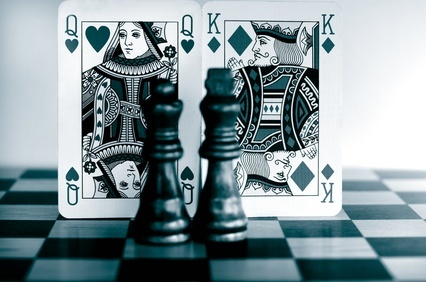 strategy of poker and chess