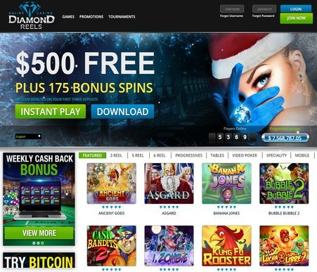 diamond reels casino review