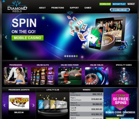 top online casino like a diamond
