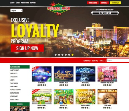 vegas 2 web casino