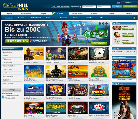 william hill kasino germany