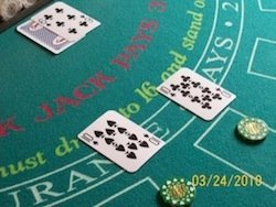 Splitting Cards in Blackjack