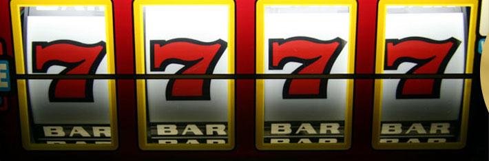 Jackpot am Spielautomaten