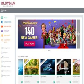 Slots.lv is one of the best online casino destinations