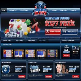 gamers love liberty slots internet casino
