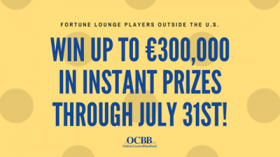 win €300,000 in instant prizes through July 31st
