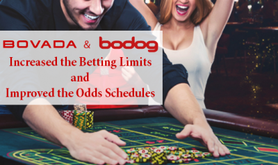 bovada and bodod raise the limits and improve the odds schedules