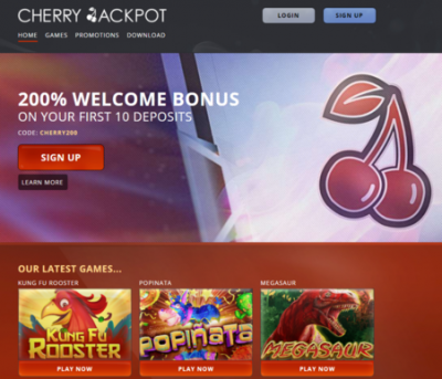 cherry jackpot review
