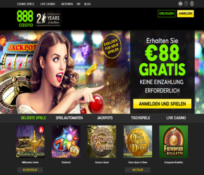888 casino de german screenshot