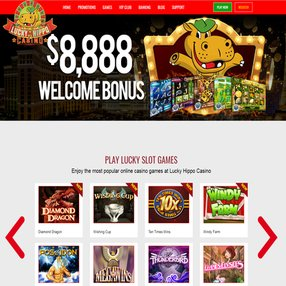 online gamers love lucky hippo casino