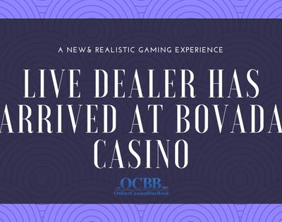 new live bovada dealer
