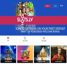 Slots.lv is one of the top casinos to play at