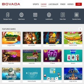 gamble at Bovada