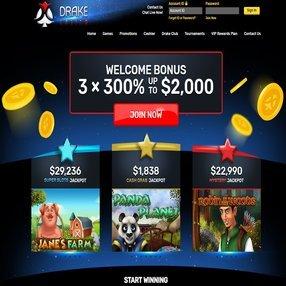 gamers love Drake internet casino