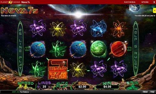play nova 7 slots at plant 7 casino