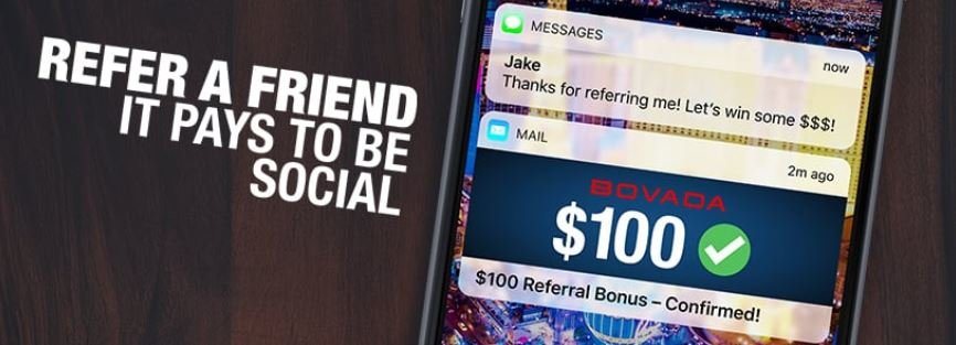 bovada referral bonus