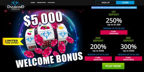 Diamond Reels Bonus