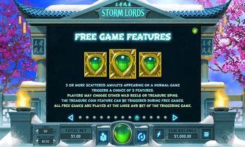 storm lords free game feature