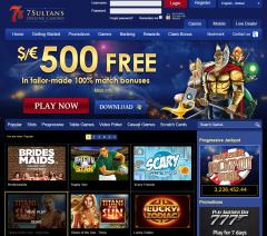 7 Sultans Casino Review – CA Version