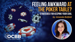 strategies to keep cool at poker tables