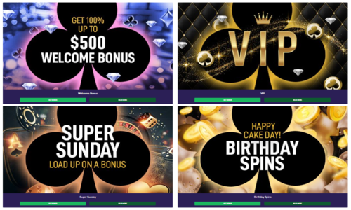 promotions at black spins casino