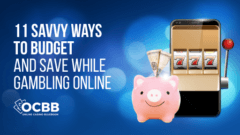 save and budget while gambling online