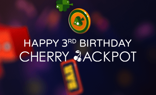 birthday bonus at cherry jackpot
