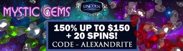 mystic gems bonus lincoln casino