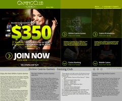 Gaming Club Casino Review – CA Version