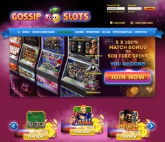 Gossip Slots Casino Review