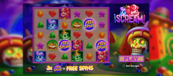 free spins feature iscream slot
