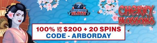 cherry blossom spring bonus liberty casino