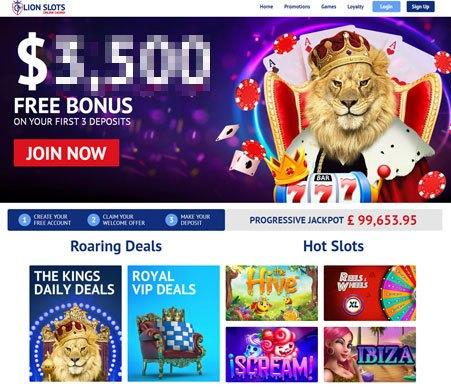analysis of lion slots casino online