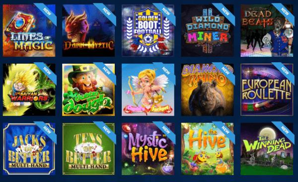 games at lion slots casino