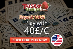 tasty bingo casino bonus for players outside of the united states