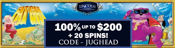 free spins offer lincoln casino