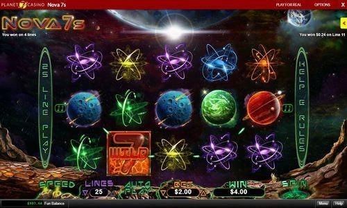 play nova 7 slots at planet 7 casino